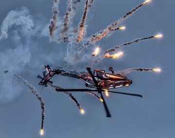 AH-64D Apache Solo Display Team (met flares) van
