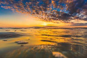 Domburg surfen zonsondergang 4 van
