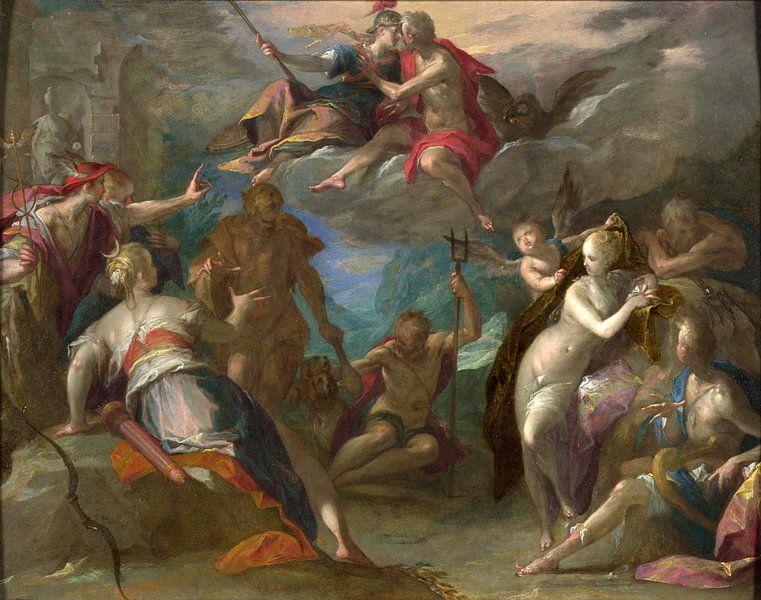 Hans von Aachen.Die Überraschung der Götter von 1000 Schilderijen