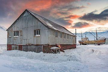Siglufjörður, Iceland van Andreas Jansen