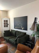 Photo de nos clients: Still life in green sur Monique van Velzen