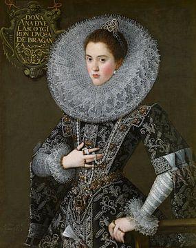 Portrait d'Ana de Velasco y Girón, Juan Pantoja de la Cruz - 1603