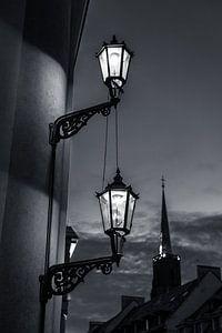 Gas Street Lamps van Aen Seavherne
