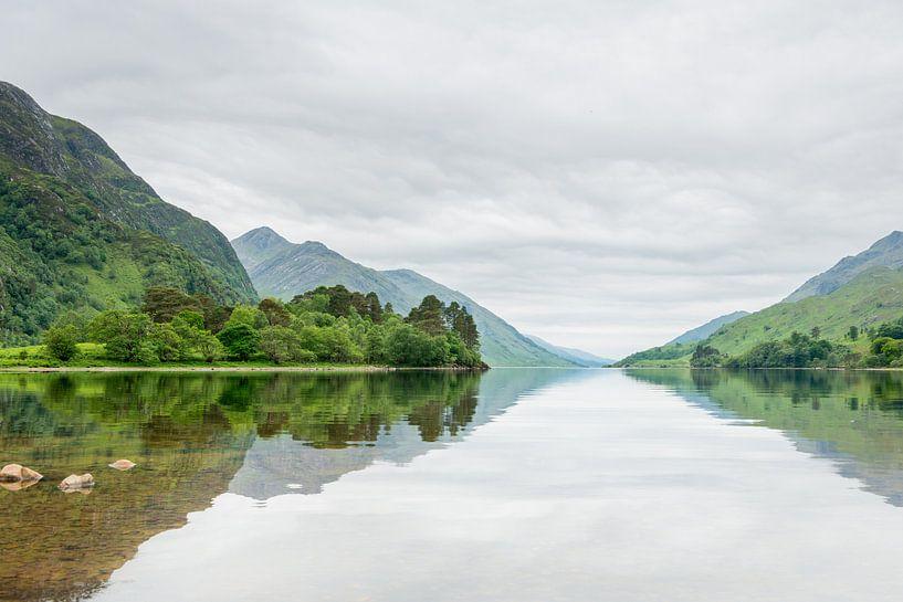 Loch Shiel, Glenfinnan (Schotland) van Hans van Wijk