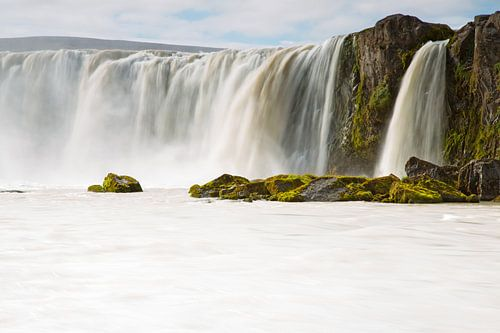 Godafoss waterval in IJsland van