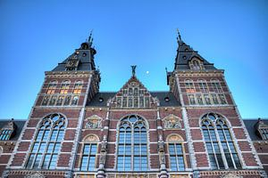 Rijksmuseum blauwe uur met maan