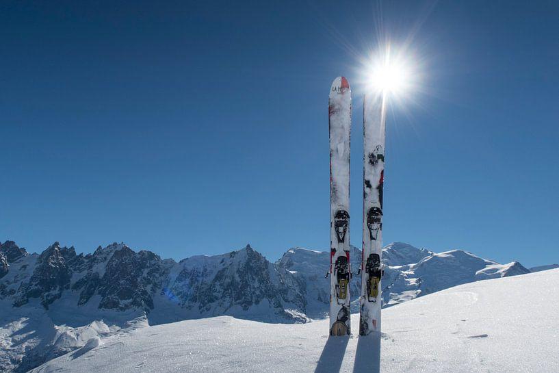 Ski Mont Blanc sur Menno Boermans