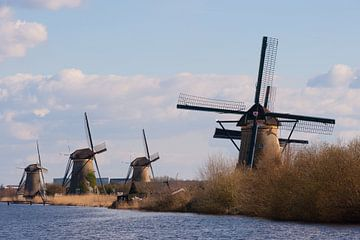 Kinderdijk Netherlands van Brian Morgan