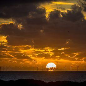 Sonnenuntergang von Martijn Tilroe