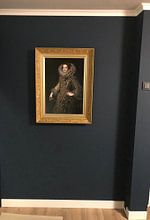 Klantfoto: Koningin Elizabeth van Bourbon, op fotoprint