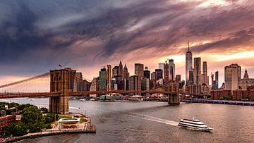 Brooklyn Bridge van Remco Piet
