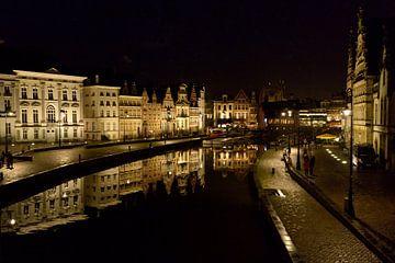 Gent bij nacht von Peter Apers