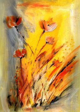Blumen im Licht von Claudia Gründler