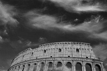 Zwart wit Colosseum