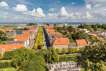 Uitzicht op Willemstad (Noord-Brabant)