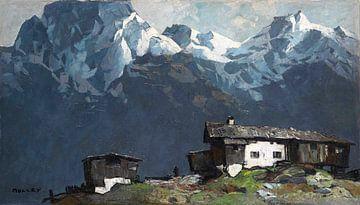 Berg boerderij, OSKAR MULLEY, 1920 van Atelier Liesjes