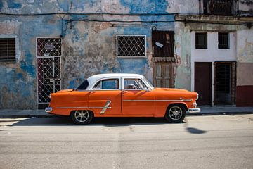 Oldtimer oranje von Margo Smit