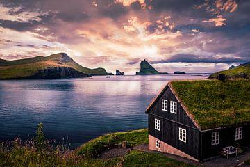 Bøur, Färöer-Inseln von Dennis Wardenburg