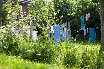 Charmes van het platteland, waslijn van Marit Nynke Anker