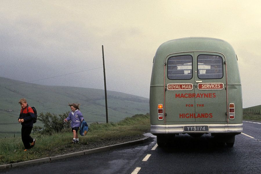 The Old Schoolbus