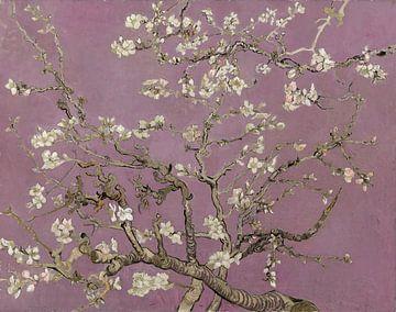 Amandelbloesem van Vincent van Gogh (Heart Wood)  van