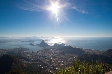 Rio de Janeiro, vanaf Cristo Redentor van Martijn Mureau