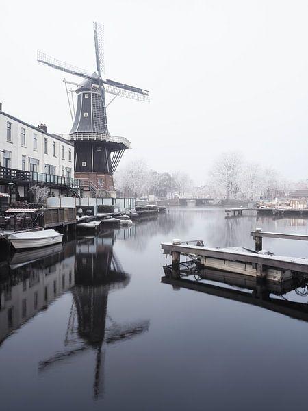 Haarlem: molen De Adriaan 2.
