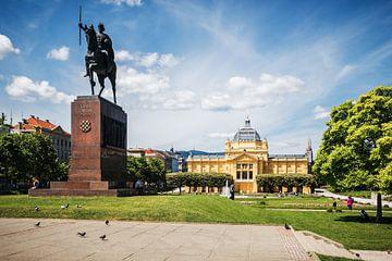 Zagreb - Tomislav-Platz von Alexander Voss