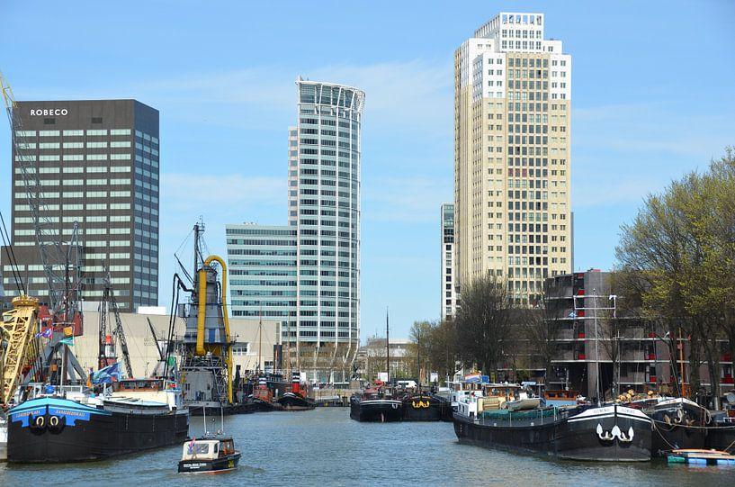 Rotterdam heeft vele gezichten  van Marcel van Duinen