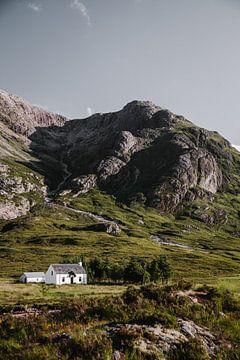 Wit huisje in Glencoe