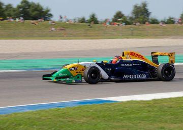 Racewagen van Thijs Schouten