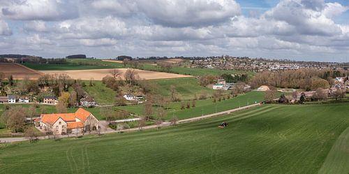 Luftaufnahme von Bulkumsbroek und dem Hulsveld in Simpelveld