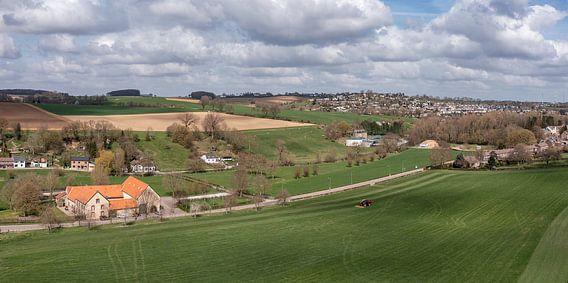 Luchtfoto van Bulkumsbroek en het Hulsveld in Simpelveld