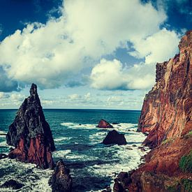 Cabo de Sao Lourenco - Eiland Madeira - Portugal van Dirk Wüstenhagen