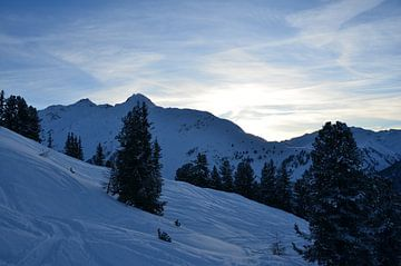Winterse Alpen