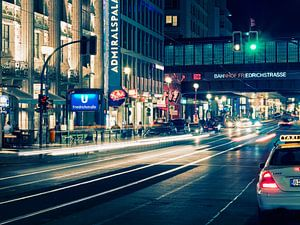Berlin – Friedrichstrasse at Night