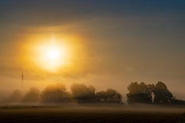 Sonnenaufgang nähe Allmannshofen