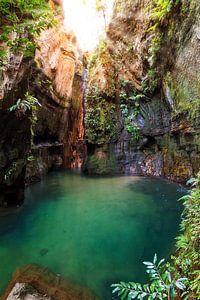 Canyon rivier Isalo