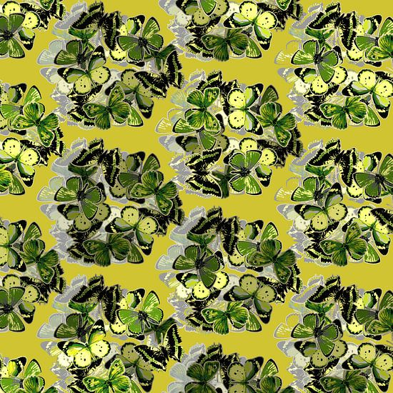 GRAFISCHE PRINT VLINDERS 1 van MY ARTIE WALL