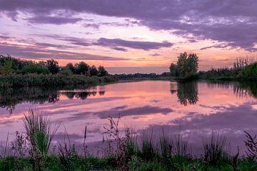 Colorful sunset van Kim Lijnders