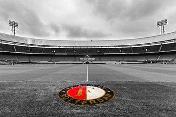 In der Nähe des Kuip Grases Feyenoord Rotterdam - 2 von Tux Photography