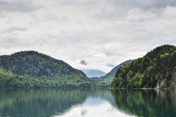See in den bayrischen Alpen