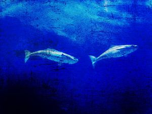 Deep blue ocean sur Christiane Baur