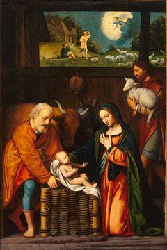 Kerstmis - Bernardino Luini van