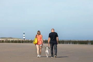Spaziergang am Strand von Percy's fotografie