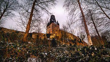 Partie du château de Bad Bentheim sur Edith Albuschat