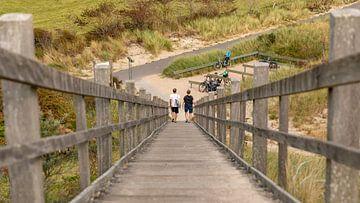 Traversée de plage à Walcheren sur Percy's fotografie