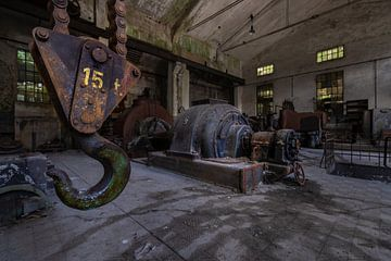 oude industrie van Jan van de Riet
