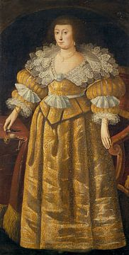 Elisabeth, reine de Bohême, anonyme sur