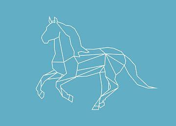 Paard - Grafische dieren van Dieuwertje en Kevin van der Linden - Meijer
